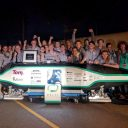 Studententeam Delft Hyperloop wint wedstrijd in Los Angeles
