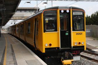 Class 313 ETCS testtrein van Network Rail, foto: Network Rail
