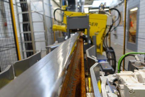 Freesmachine Voestalpine RailPro