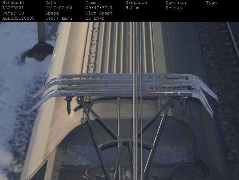 Monitoring van een pantograaf door Ricardo Rail