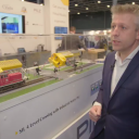 Jan van der Heide van Pilz op RailTech Europe 2017