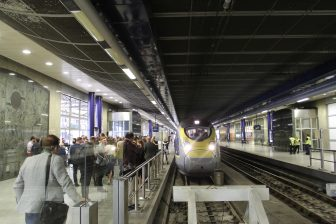 De Siemens Velaro e320 van Eurostar
