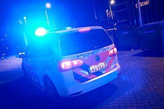 Politieauto met zwaailicht, foto: Politie.nl