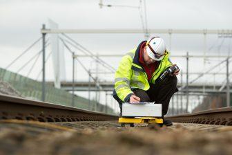 ERTMS Strukton in aanleg bij Zevenaar, foto: Tjitske Sluis