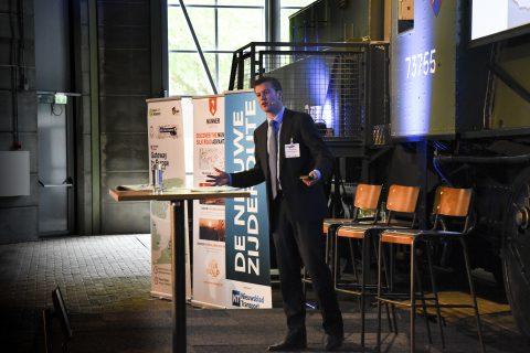 Onno de Jong, haveneconoom aan de Erasmus Universiteit in Rotterdam