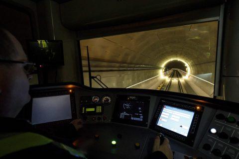Noord/Zuidlijn testen met metro, foto: Gé Dubbelman