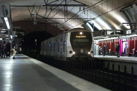 Automatic Train Operation op de RER A metrolijn, foto: Alstom