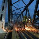 Werkzaamheden aan Moerdijkbrug, foto: Hans Hendriksen van Sweco