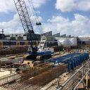 Nieuwe onderhoudswerkplaats van NedTrain in Leidschendam, foto: NS