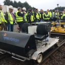 Demonstratie meet-trolley Inspectation