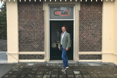 Directeur Joost van Opijnen van SVO-rail