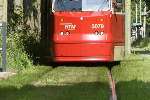 HTM Tram 1 Scheveningseweg Den Haag