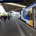 NS-conducteur, Flirt-trein Stadler, treinstation Tilburg
