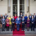 De bordesfoto van het kabinet Rutte III, foto: Rijksoverheid / Valerie Kuypers