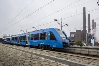 Brandstofceltrein Coradia iLint van Alstom