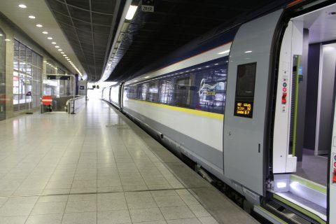 De Siemens Velaro e320 hogesnelheidstrein van Eurostar