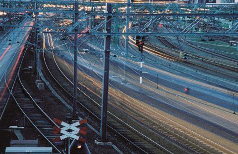 Spoor, rails, treinenloop, foto: Martin Uitvlugt