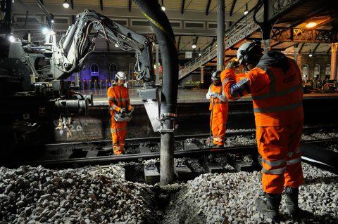 Zweedse ballastzuiger Railvac