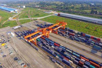 Terminal Chengdu, foto: Havenbedrijf Rotterdam