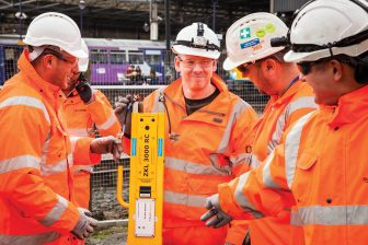 Werkzaamheden Huddersfield-project Network Rail, ZKL 3000 RC Dual Inventive