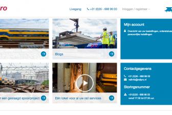 Nieuwe webshop Voestalpine Railpro