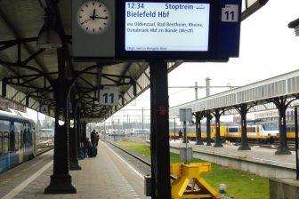 Treindienst Hengelo-Bielefeld