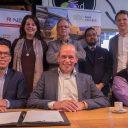 Ondertekening samenwerkingsovereenkomst machinistenopleiding door NS en het Scheepvaart en Transport College