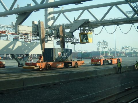 ECT Terminal in Rotterdam