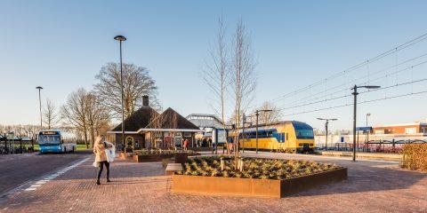 Een NS-trein op station Putten, foto: John Verbruggen
