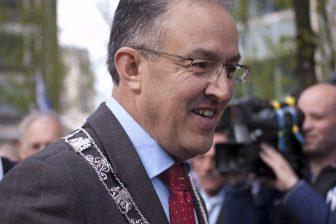Burgemeester Ahmed Aboutaleb van Rotterdam