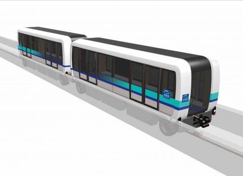 Cityval metrovoertuigen Siemens