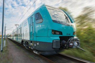 Flirt3 Eurobahn van Hengelo naar Bielefeld. Foto: Keolis