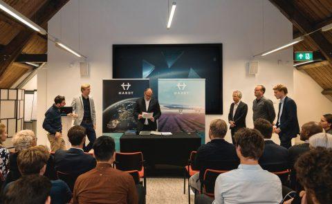 Hardt maakt bekend 1,25 miljoen euro te hebben ingezameld voor de ontwikkeling van een Hyperloop-testtraject