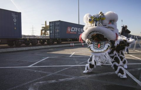 China's first direct rail freight train arrives London: London News Pictures
