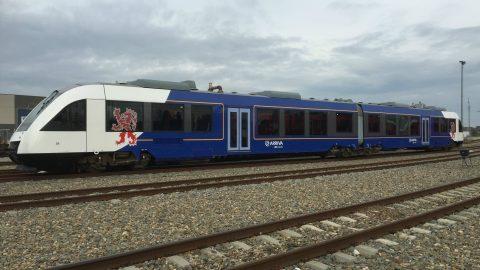 Lint trein Maaslijn Limburg