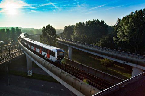 De M5-metro van het GVB in Amsterdam, foto: GVB Verbindt