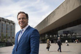 Wethouder Pex Langenberg van Rotterdam