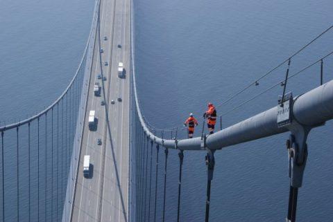 Een brug in Denemarken, foto: Strukton Rail