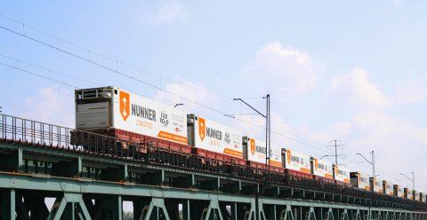 Goederentrein Nunner Logistics