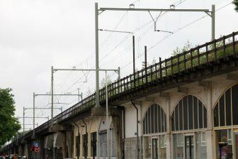 Hofpleinlijnviaduct Rotterdam. Foto: Wikimedia Commons
