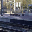 Poefen op Rotterdam Centraal. Foto: RailPro