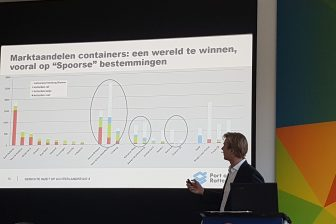 Matthijs van Doorn, directeur achterlandverbindingen van het Havenbedrijf Rotterdam