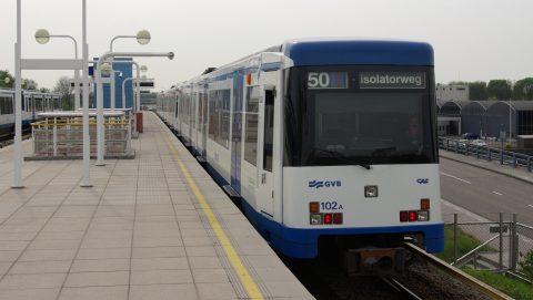 Metro M4 van treinfabrikant CAF