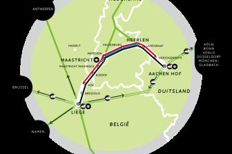 Drielandentrein Maastricht Aachen Luik
