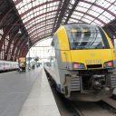 Locomotief NMBS trein Belgie Antwerpen