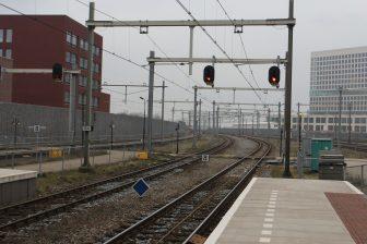 Rood sein station Breda