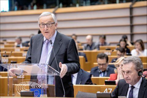 Jean-Claude Juncker, voorzitter van de Europese Commissie