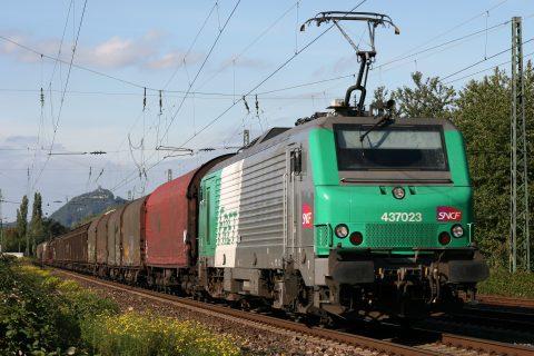 Spoorgoederenvervoerder Fret van SNCF