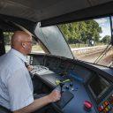 Een machinist van Arriva, foto: Hollandse Hoogte