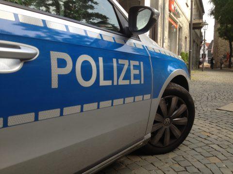 Polizeiwagen Duitsland. Wikicommons.